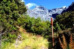 Berg alba, Gillespie-Durchlauf stockfoto