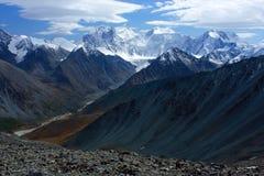 Berg Altai stock foto