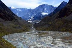 Berg Altai royalty-vrije stock afbeelding