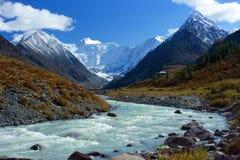Berg Altai stock afbeelding