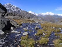 Berg Altai stock fotografie