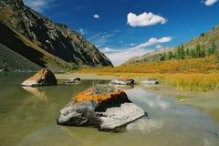 Berg Altai Fotografering för Bildbyråer