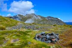 Berg-Arthur-Bereich stockfoto