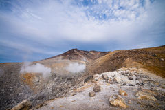 Berg Asahidake-Gipfel Lizenzfreies Stockfoto