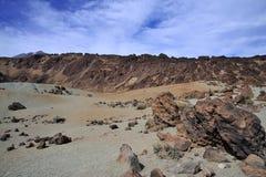 Berg auf Tenerife, EL teide Vulkan Lizenzfreie Stockfotos