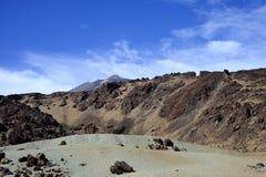 Berg auf Tenerife, EL teide Vulkan Stockbilder