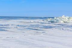 Berg av is Fotografering för Bildbyråer