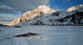 Berg av is Royaltyfri Bild