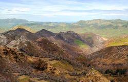 Berg av Asturias Arkivfoto
