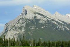 Berg av Banff Alberta, Kanada Arkivbilder