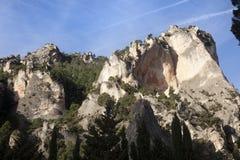 Berg av Beceite Royaltyfria Foton