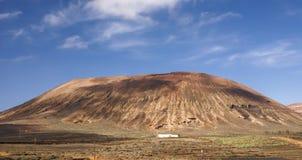Berg av brand, Montanas del Fuego, Timanfaya.i Royaltyfria Bilder