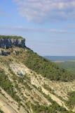 Berg av den Crimean halvön Arkivfoton
