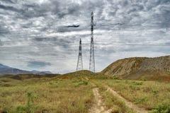 Berg av den sydliga Kirgizistan Royaltyfri Fotografi