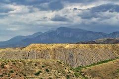 Berg av den sydliga Kirgizistan Royaltyfria Bilder