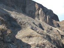 Berg av den sydliga kusten av Krim arkivfoton