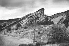 Berg av Denver Colorado Fotografering för Bildbyråer