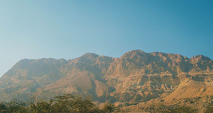 Berg av Ein Gedi Royaltyfri Bild