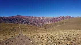 Berg av 14 färger Royaltyfria Bilder