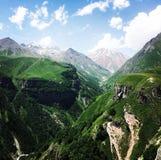 Berg av Georgia Fotografering för Bildbyråer