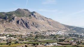 Berg av Granada Arkivfoto