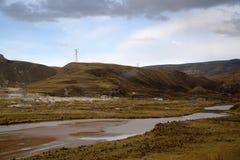 Berg av Junin arkivfoton