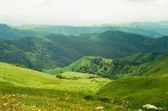 Berg av karachaiicherkessiyaen Fotografering för Bildbyråer