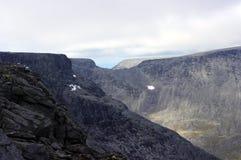 Berg av Kola Peninsula Royaltyfri Fotografi