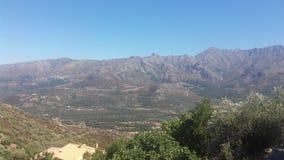 Berg av Korsika arkivbild