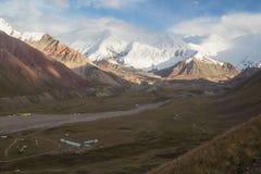 Berg av Pamir Royaltyfri Foto