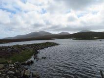 Berg av södra Uist royaltyfria bilder
