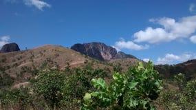 Berg av San Juan de los Morros, Venezuela Arkivfoton