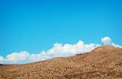 Berg av sjömjödet, Nevada Royaltyfria Bilder