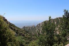 Berg av Spanien arkivbild