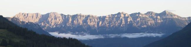 Berg av Trentino Royaltyfria Bilder