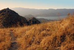 Berg av västra Tien Shan i Augusti Arkivbilder
