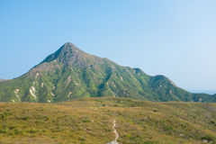 Berg in Azië, de Herfst Stock Foto's