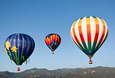 Berg Ballooning Stock Foto's