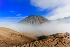 Berg Batok, Indonesien Stockfotos