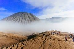 Berg Batok, Indonesien Lizenzfreie Stockfotografie