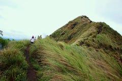 Berg Batulao stockfoto