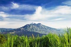 Berg Batur lizenzfreie stockfotografie
