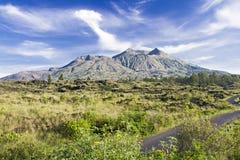 Berg Batur stockbild