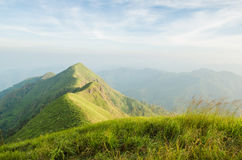 Berg bei Kanchanaburi Lizenzfreie Stockfotos