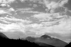 Berg beskådar Royaltyfri Bild
