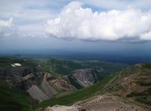 Berg beskådar Arkivfoto