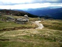 Berg beskådar Arkivfoton