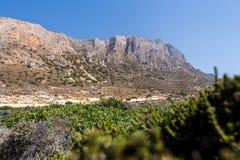 Berg beskådar Grekland Royaltyfri Fotografi