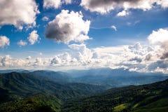 Berg bij het nationale park van Phusoidao Stock Foto's
