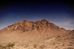 Berg bij Vallei van Brand royalty-vrije stock afbeelding